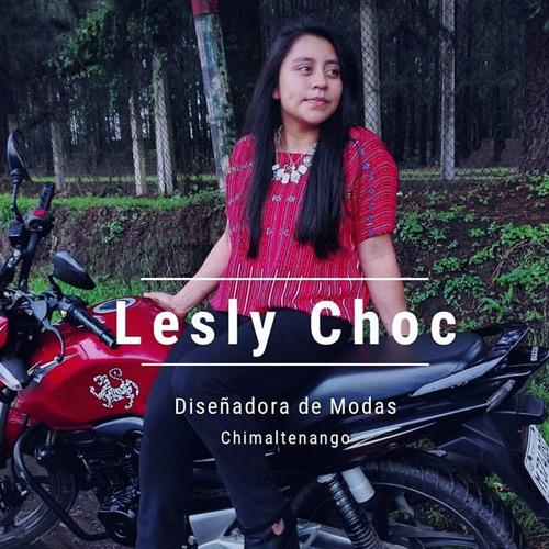Lesly Choc - Diseñadora de modas guatemalteca
