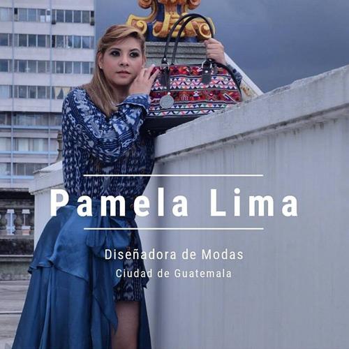 Pamela Lima - Diseñadora de modas guatemalteca