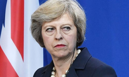 Salario primera ministra de Reino Unido