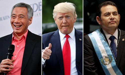 Los presidentes con mejor salario en el mundo