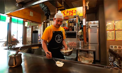 Chef guatemalteco triunfa en Japón.