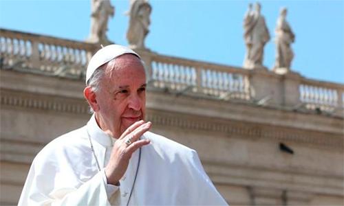 """""""Estamos al límite de una guerra nuclear"""" dice Papa Francisco."""