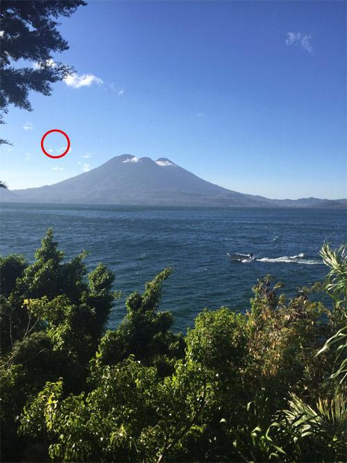 Ovni en Lago de Atitlan, Solola