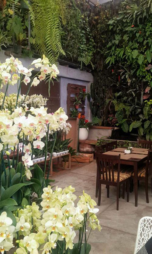 Lindo y tranquilo restaurante en Guatemala