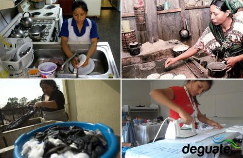 Trabajo doméstico en Guatemala