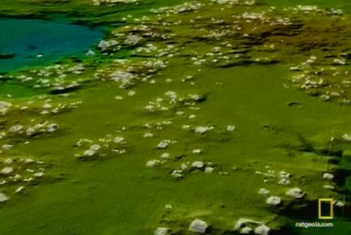 Miles de construcciones mayas en la jungla