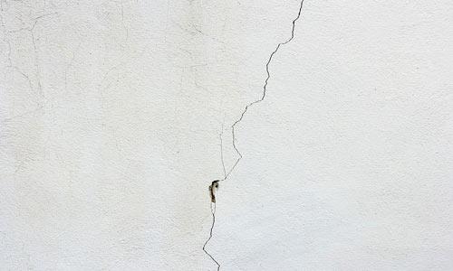 Seguro terremoto cubre rajaduras