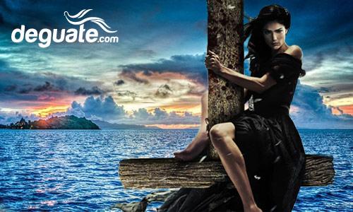 Imagen de La Tatuana en su barco