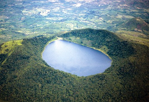 Leyenda de la Laguna Ipala