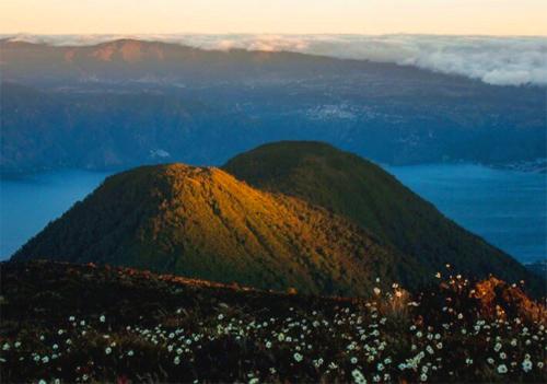 Leyenda del Cerro de Oro en Sololá