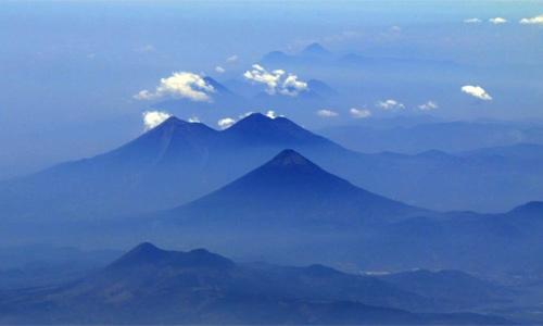 Cadena de volcanes de Guatemala