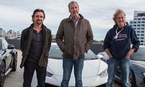 The Grand Tour 3 - Jeremy Clarkson, Richard Hammond y James May