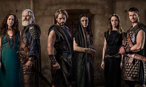 Personajes de Troya: la caída de una ciudad (Netflix)