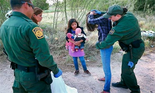Cifra de niños detenidos en la zona fronteriza ya supera a la de 2017.