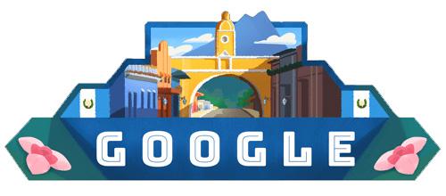 Doodle independencia de Guatemala 2018