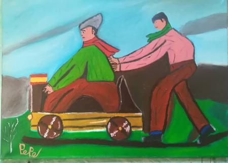 Pintura Pepe Baarea