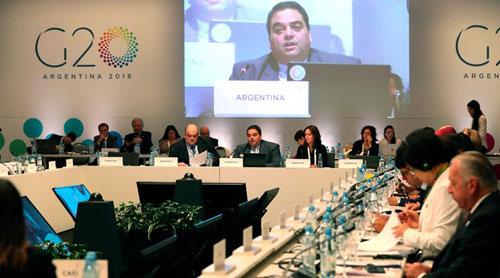 Analizan retos del comercio de los países del G20