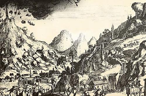 Tragedia Volcan de Agua 1541