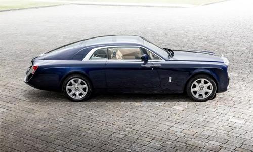 El carro más caro del mundo es el Rolls-Royce Sweptail - US $13 millones