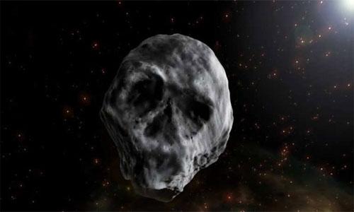 Asteroide calavera regresa a la Tierra por Halloween.