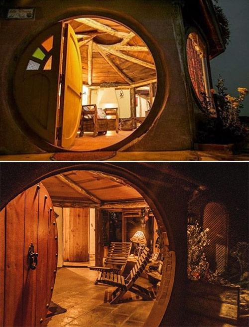 Casa de Hobbit en Hobbitenango