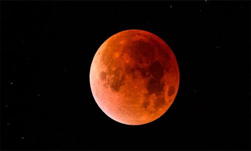 Eclipse Total de Luna desde Guatemala