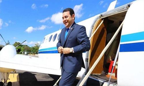 Presidente de Guatemala viaja a EE.UU., por migración.