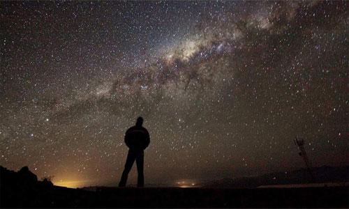 Fuerte huracán de materia oscura se dirige hacia la Tierra.