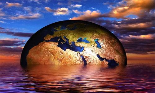 La Tierra devora a sus propios océanos.