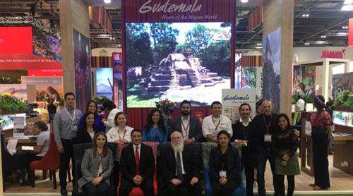 Promueven destinos guatemaltecos en evento líder de la industria de viajes en Reino Unido