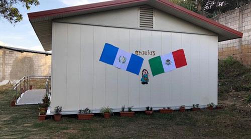 Embajada de México dona Módulo Educativo