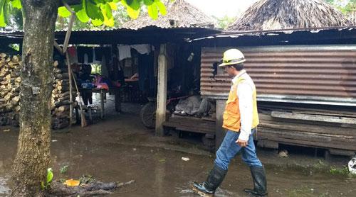 Se intensifican las lluvias en Guatemala