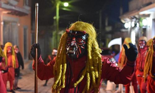 Danza de los Diablos en Guatemala