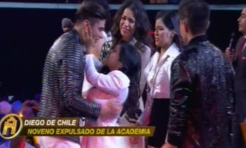 Diego de Chile expulsado de La Academia 2018
