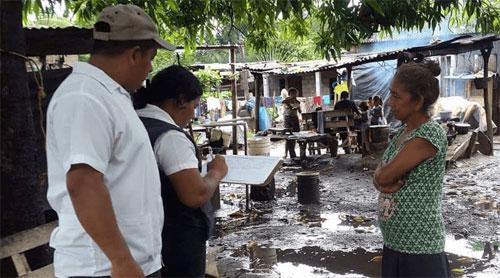 Verifican situación de salud en 85 comunidades afectadas por las lluvias