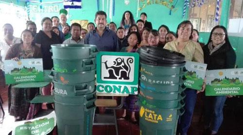 Unen esfuerzos por la educación ambiental en Sololá