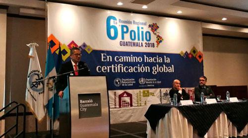 Buscan mantener a la región libre de polio