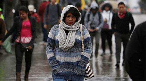 Autoridades previenen por nuevo frente frío que ingresará mañana al país
