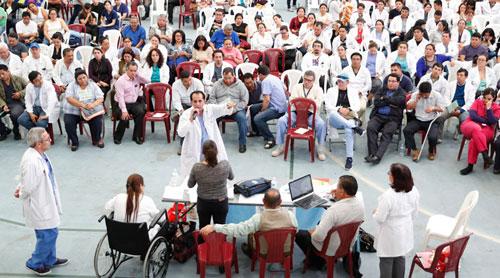 Ministerio de Salud confirma fin de paro laboral de médicos