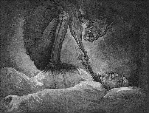 Mito y explicación científica de la Parálisis del Sueño