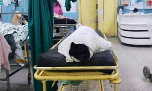 Mujer en estado de gestación pierde la vida tras ser atropellada por un camión.