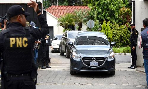 PNC ordena al servicio de CICIG devolver vehículos que les fueron asignados.