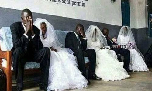 Si deseas divorciarte tendrás que vestirte igual al día de tu boda.