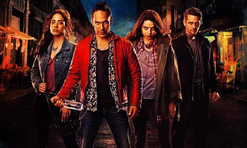 Personajes de la serie Diablero