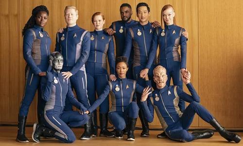 Personajes Star Trek Discovery