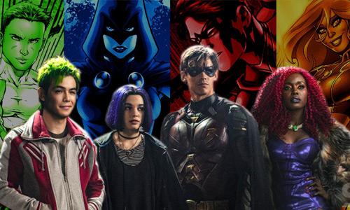 Personajes de la serie Titanes