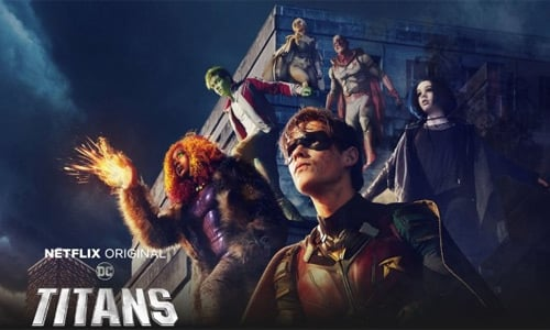 Titanes Temporada 2 - DC Universe / Netflix