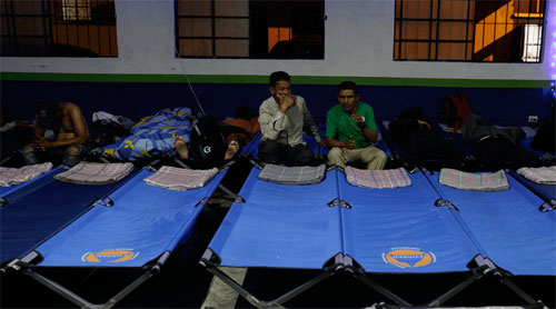 Autoridades dieron refugio a 159 guatemaltecos, por bajas temperaturas del martes