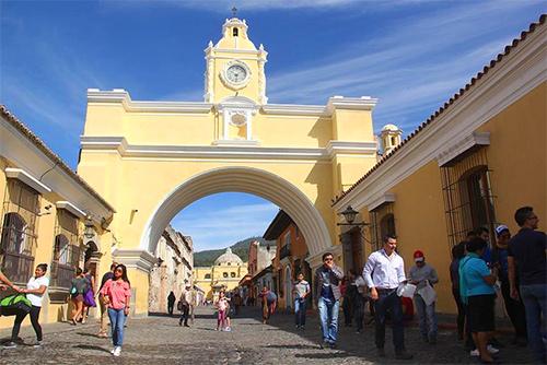 Guatemala es un lugar atractivo para turistas y un destino de moda