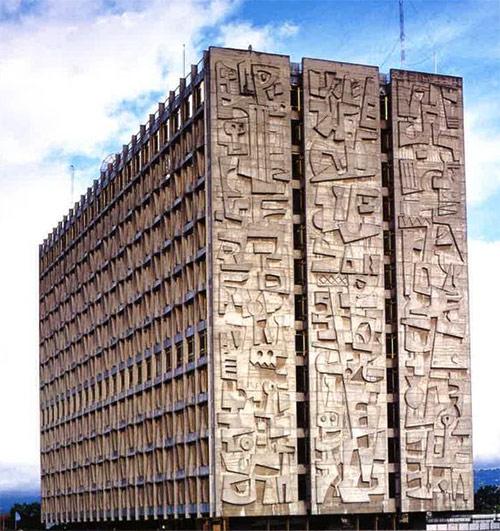 Los Murales del Banco de Guatemala